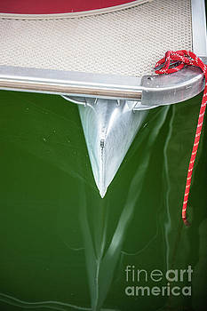 Pontoon Boat Reflections by Dale Powell