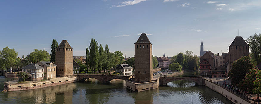 Ponts Couverts Strasbourg France by Teresa Mucha