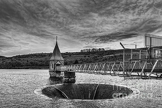 Steve Purnell - Pontsticill Reservoir Valve Tower Mono