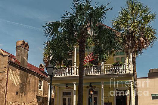 Poogan's Porch in Historic Downtown Charleston  by Dale Powell