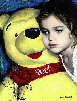 Pooh Bear by Lisa Wolfin