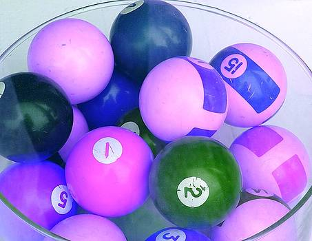 Pool Balls by Grant Marchand