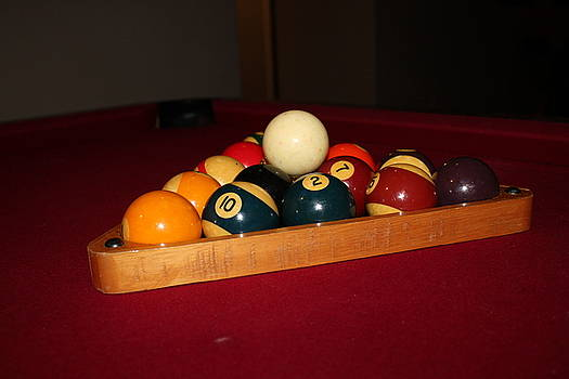 Pool Balls by Juan Rodriguez