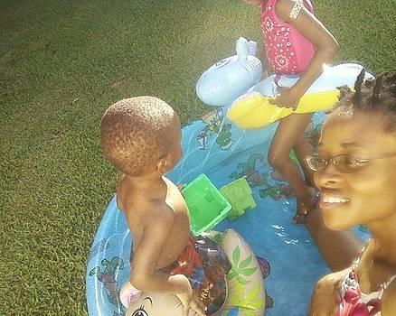 Pool Fun by Sabirah Lewis