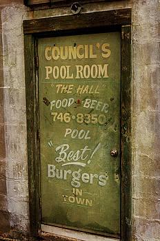 Pool Room by John Knapko