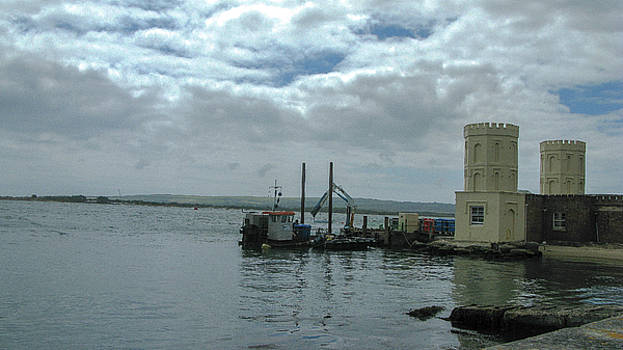 Poole Harbour from Brownsea Island by Maria Joy