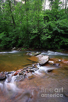 James Brunker - Pools and Rocks Patapsco River Maryland