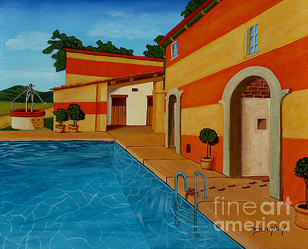 Poolside by Anthony Dunphy