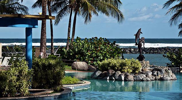 Poolside Dorado Beach PR by Frank Feliciano