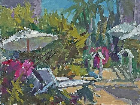 Poolside Paradise by Bruce Bingham