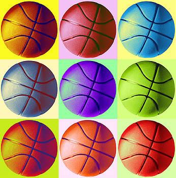 Pop Art Basketball by Meliha HIZLI