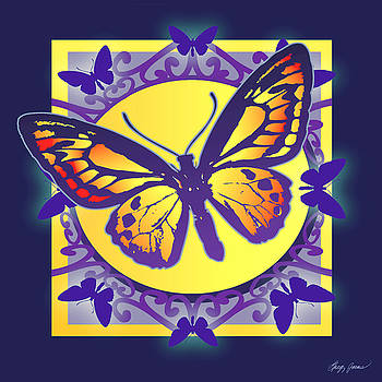 Greg Joens - Pop Art Butterfly