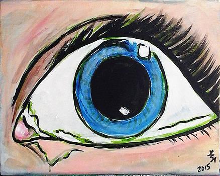 Pop Art Eye by Loretta Nash