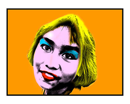 Pop Art Girl by Russell Pittock