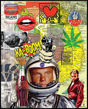 Pop Art Montage Two by Gary Grayson