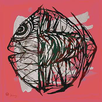 Pop Art - Tropical Fish Poster by Kim Wang