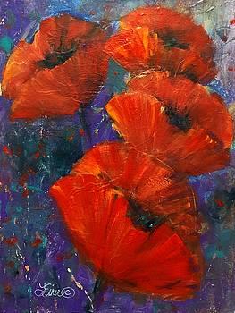 Pop of Poppies by Terri Einer