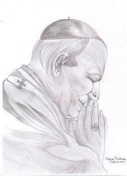 Xafira Mendonsa - Pope John Pal II