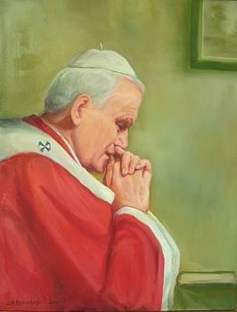 Pope John Paul II by Michael Chesnakov
