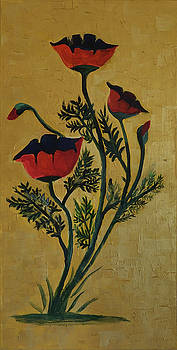 Poppies by Phyllis Hollenbeck