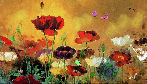 Poppies and Love by Ralph Taylor