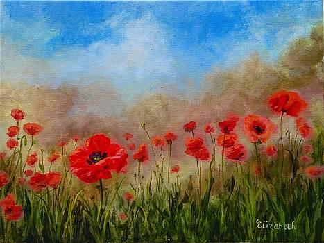 Poppies by Beth Maddox