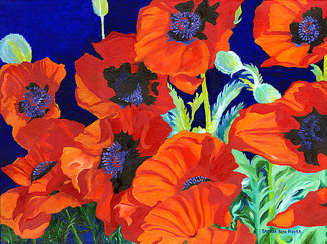 Poppies by Brenda Beck Fisher