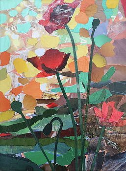 Poppies for You 2 by Joanna Turlej
