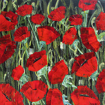 Poppies Galore by Diane Dean