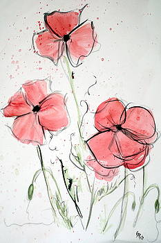 Poppies by Gaynell Parker