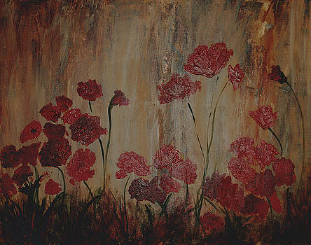 Poppies II by Andrea Harston