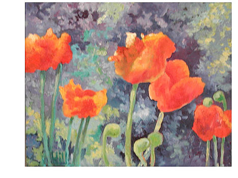 Poppies II by Wendy Hill