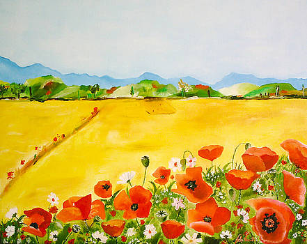 Poppies in alentejo by Nela Vicente