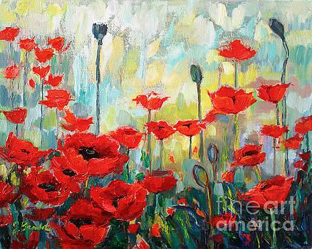Poppies in Bloom by Jennifer Beaudet
