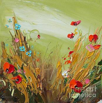 Poppies in Green by Ivailo Georgiev