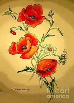 Poppies in the Sun by Norma Boeckler