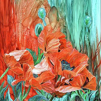 Poppies - Love In Bloom by Carol Cavalaris
