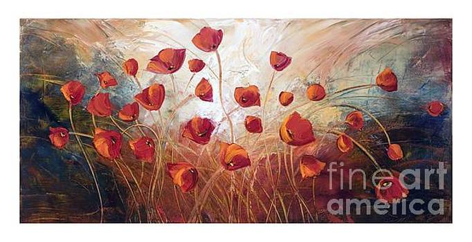 Poppies by Marcella Rose