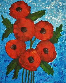 Poppies by Clover Moon Designs Peggy Sowers-Heckman
