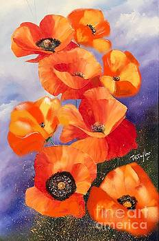 Poppies by Ralph Taylor