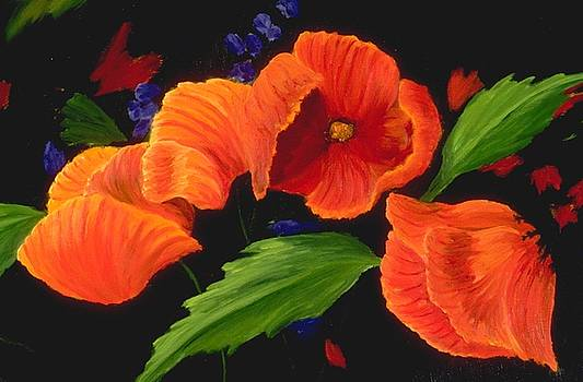 Mary Erbert - Poppies to the Right