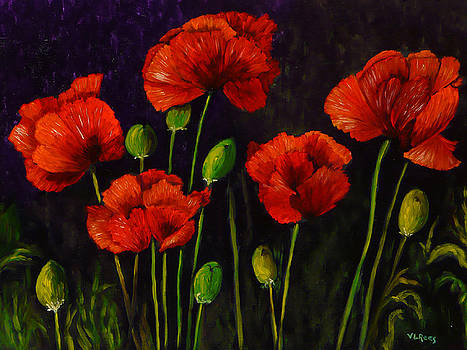 Poppies by Vicki Rees