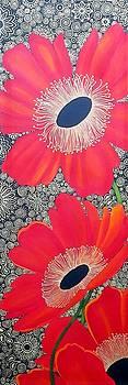Poppy Bling by Carol Sabo