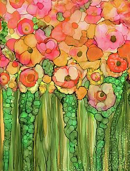 Poppy Bloomies 1 - Orange by Carol Cavalaris