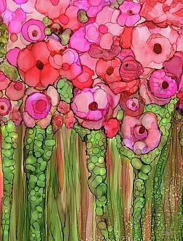 Poppy Bloomies 1 - Pink by Carol Cavalaris
