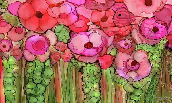 Poppy Bloomies 3 - Pink by Carol Cavalaris