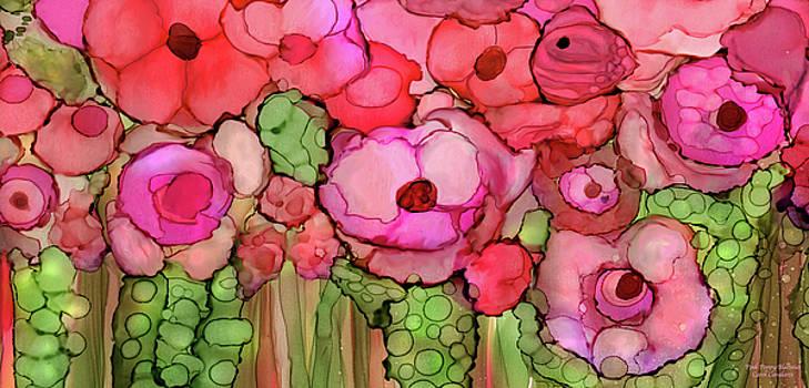 Poppy Bloomies 4 - Pink by Carol Cavalaris