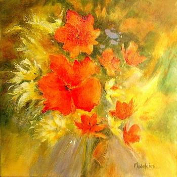 Poppy Bouquet  by Madeleine Holzberg