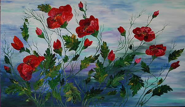 Poppy dream by Katerina Atapina