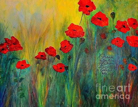 Poppy Dreams by Claire Bull